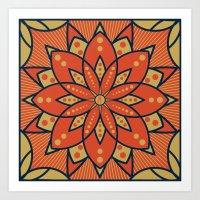 Sugar Lotus Art Print