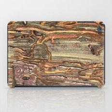 Worm Eaten Wood iPad Case