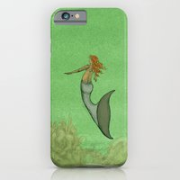 iPhone & iPod Case featuring The Golden Mermaid by Camilo Nascimento