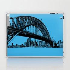 sydney in blue Laptop & iPad Skin