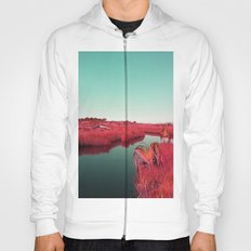 Madagascan River in Red Hoody