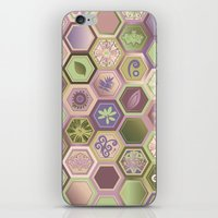Polygon pattern iPhone & iPod Skin