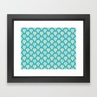 Scales Framed Art Print
