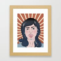 BETTY Framed Art Print