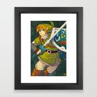 Link Framed Art Print