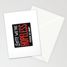 Hopeless Stationery Cards