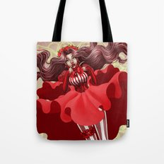 Reckonings of Red Tote Bag