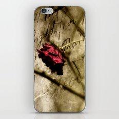 One Good Kiss iPhone & iPod Skin