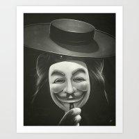 Anonymous II Art Print