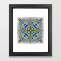 Mix&Match Byzantine Mosaic 03 Framed Art Print