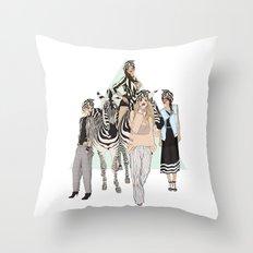 Stripe Tease Throw Pillow