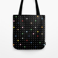 Pin Points On Back Tote Bag