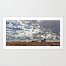 Big Farm Art Print