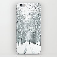 winter symphony iPhone & iPod Skin