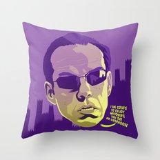AGENT SMITH Throw Pillow