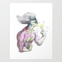 freakazoid Art Print