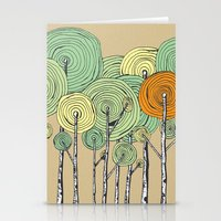 fall Stationery Cards featuring Fall by Chris Gregori