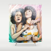 These Are The Broads You… Shower Curtain