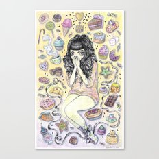 Sugaria Canvas Print