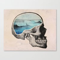 Brain Waves Canvas Print