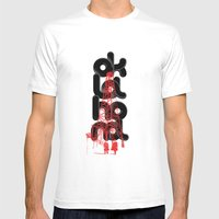 Oil-klahoma  Mens Fitted Tee White SMALL