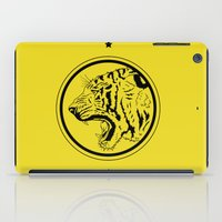 Tiger in a circle iPad Case