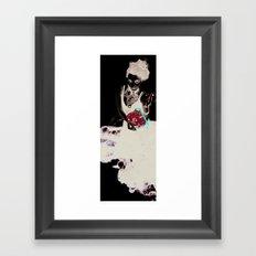 Encre (Ink) Framed Art Print