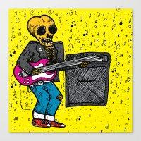 Rock 'N' Roll Canvas Print