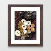oriental food Framed Art Print