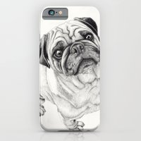 iPhone & iPod Case featuring Seymour the Pug by Beth Thompson