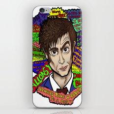 The 10th Doctor iPhone & iPod Skin