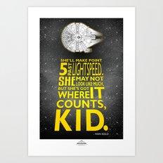 Star Wars - What a piece of Junk! Art Print