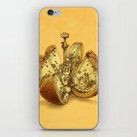 Steampunk Orange iPhone & iPod Skin