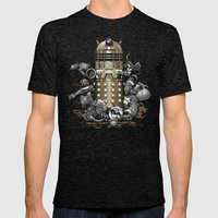 Exterminated! Mens Fitted Tee Tri-Black SMALL