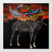 Lord of the Pocket Protectors  Canvas Print