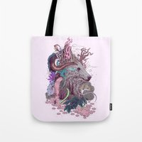 Forest Warden Tote Bag