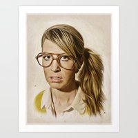 i.am.nerd. : Lizzy Art Print