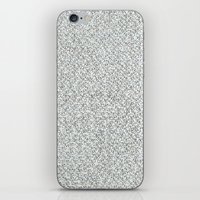 2,173 Pugs on Graph Paper iPhone & iPod Skin