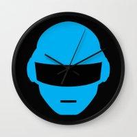 Daft Punk Thomas Bangalter Helmet Wall Clock