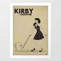 Kirby Hoover Art Print