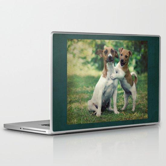 Something to Make You Smile Laptop & iPad Skin