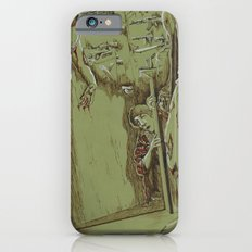 Zombies in the Hall iPhone 6 Slim Case