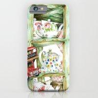 Alice's Teapots iPhone 6 Slim Case