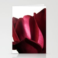 lovely rose Stationery Cards
