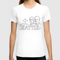 seattle T-shirts featuring Seattle by elle stone