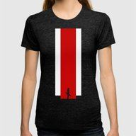 The Effect (FemShep - Cl… Womens Fitted Tee Tri-Black SMALL