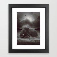 Having a Soft Heart In a Cruel World Framed Art Print