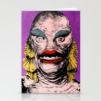 The Gorgeous Gill Man Fr… Stationery Cards