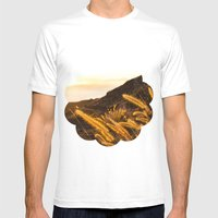 golden hour Mens Fitted Tee White SMALL