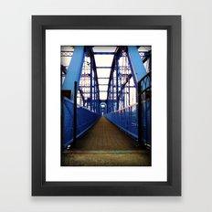 Purple People Bridge Framed Art Print